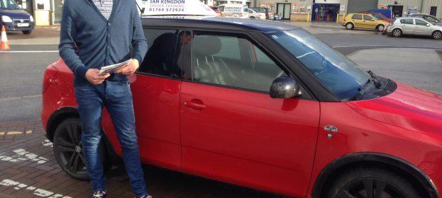 Steven Trawin passed his Driving Test today first time.