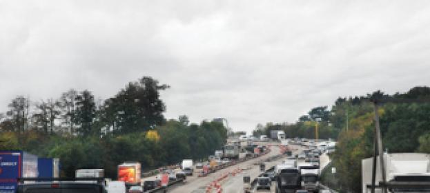 Car traffic levels reach record high in 2015