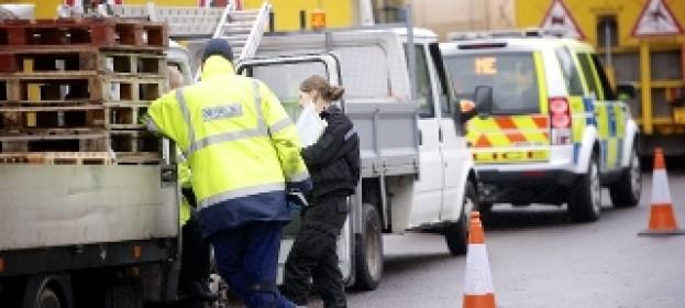 Binmen put in danger by shortcut drivers