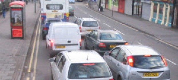 Motor vehicle traffic in Britain reached an all-time high in 2016