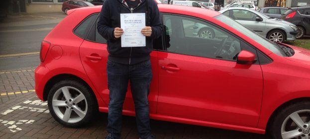 Ryan Williams passed his Test First Time with flying colours.