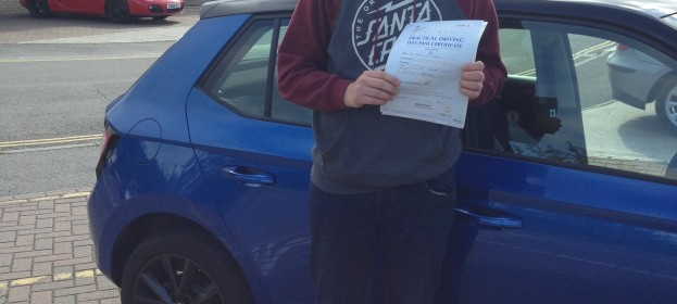 Jordan Roberts passed his Driving Test Today 1ST Time ????????????