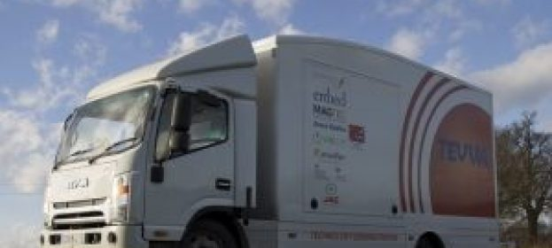 Self-driving lorry trials greenlighted for UK roads