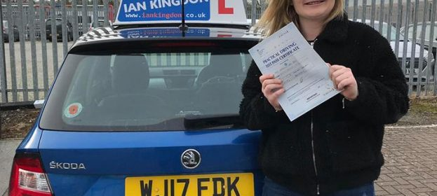 My Daughter has only gone and passed her Driving Test today with Zero faults!!!!!