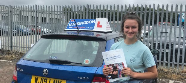 Fantastic 1ST Time Pass for Maia Attwood today, very busy and very wet with only 1 Minor.